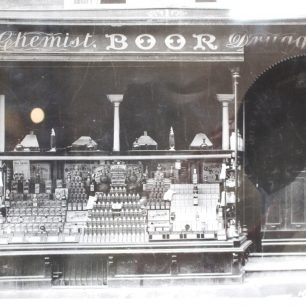 William Boor Chemist, undated | Wisbech and Fenland Museum