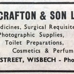 Advert for Scraftons Chemist 1967-70 | Regency Town Book 1967-70
