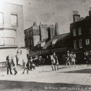 Circus Day, 1891