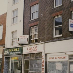 31 High Street, c.late 1980s | from FDC planning files