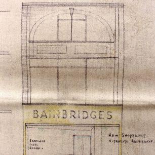 Bainbridges Application 1954 | Cambridgeshire Archives