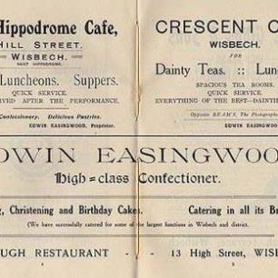Edwin Easingwoods / Borough Café Ad