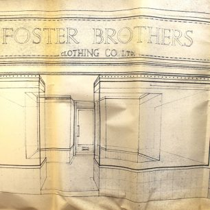 Fosters proposed shopfront 1951 | Cambridgeshire Archives