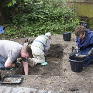 Digging a Test Pit | Taleyna Fletcher