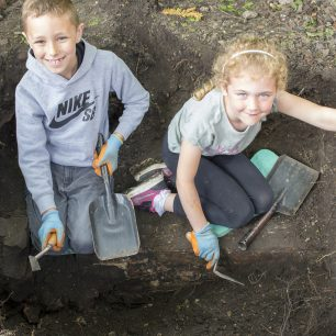 Young Archaeologists! | Taleyna Fletcher