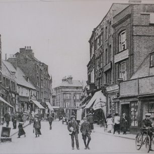 Wisbech High Street, undated   from Wisbech and Fenland Museum (ref.MIS 1001)