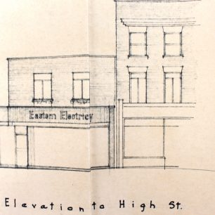 Proposed Elevation, 1961