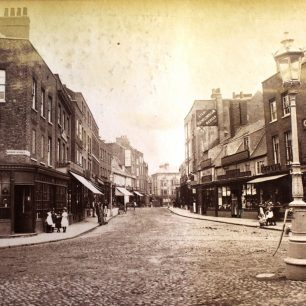 Wisbech High St c.1870-1880   from Wisbech and Fenland Museum (Stanton Collection)