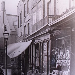 Wisbech High Street, late 19th century | from Wisbech and Fenland Museum, MIS248