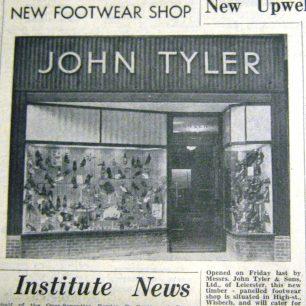 Tylers in Wisbech Standard 1956 | Wisbech & Fenland Museum / Wisbech Standard
