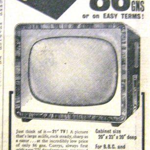 Currys Ad, Wisbech Standard, 1956 | Wisbech & Fenland Museum / Wisbech Standard
