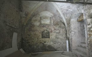 Crypt under the market place