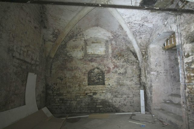 The crypt under the Market Place | Roger Rawson