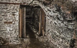 Tunnels underneath the Rose and Crown by Judy and David Hodgson