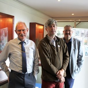 The amazing volunteer team : Andy, Garry and Mike  | Taleyna Fletcher