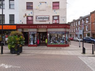 Evison's retail shop are the longest serving traders in Wisbech | Dean Rocker