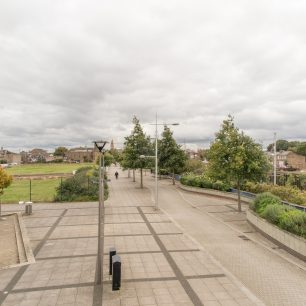 The view south along Nene Parade towards the town centre | Dean Rocker