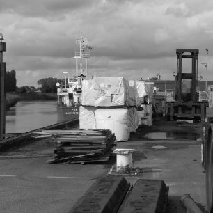 'SEG' laden with timber docked at Corporation Quay | Dean Rocker