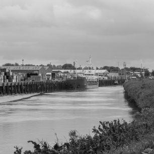 Looking down the River Nene at 'SEG' | Dean Rocker
