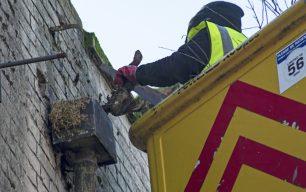 Wisbech High Street Gutter Clean Day - 2017
