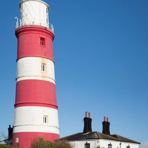 Vertical pano – Lighthouse at Happisburgh, Norfolk | Gary Garford