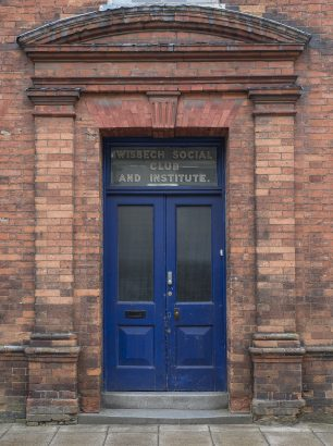 Wisbech Institute Door | Matt Emmett
