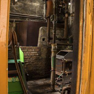 Door to Boiler Room | Sarah Thorpe