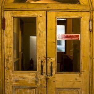 Ground Floor Pine Door | Sarah Thorpe