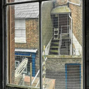 Looking Out From an Old Window 4 | Sue Reid