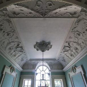 Peckover House Hallway Ceiling | Taleyna Fletcher