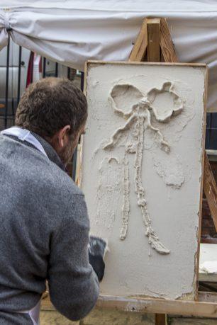 Decorative plastering demonstration | Taleyna Fletcher