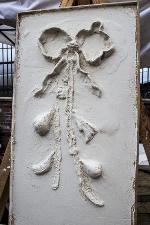 Philips decorative plaster demonstration panel | Taleyna Fletcher