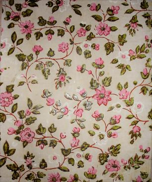 Flowery Wallpaper | Dr Phillippa Mapes