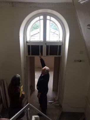Window in Castle Lodge | Taleyna Fletcher
