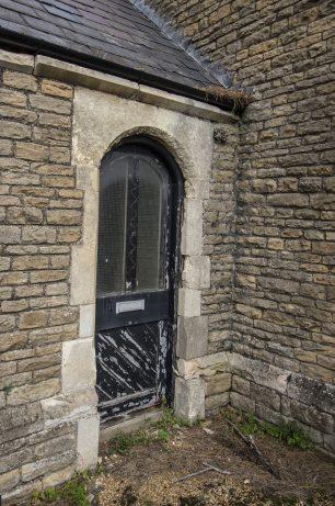Damaged Chapel Door   Taleyna Fletcher