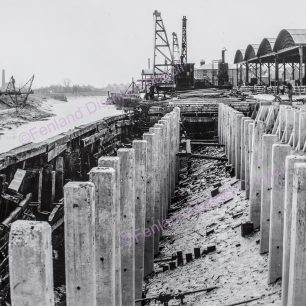 Nene Quay in course of reconstruction