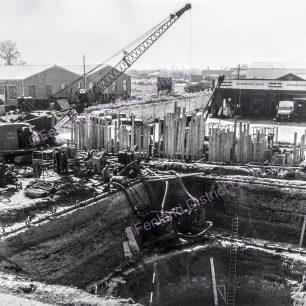 Weasenham Lane Sewerage Pumping Station Excavation - 1963