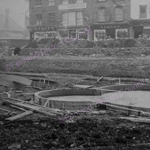 Work in progress - View towards Church Terrace - 5 Mar 1953
