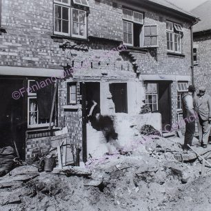 War Damage - Southwell Road
