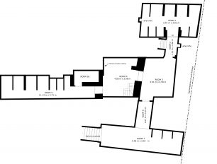 Rose and Crown cellar floor plan | Lincoln Conservation/University of Lincoln