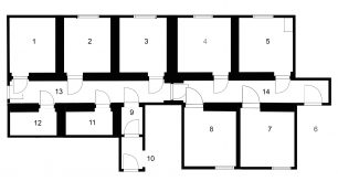 Sessions House Plan | Lincoln Conservation/University of Lincoln
